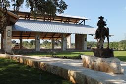 Texas Rangers Heritage Center - Courtyard
